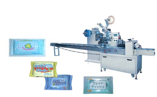 Automatic Wipe / Tissue Packing Machine 1