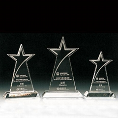 crystal star awards, trophies