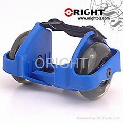 street glider, flashing roller skate,