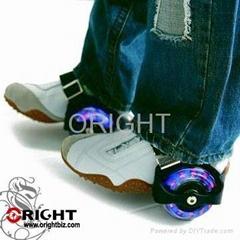 heel glider, heel skate, skating shoes