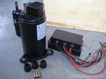 12v Dc Air Conditioner Compressor For Truck Sleeper