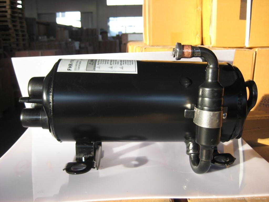 R134A 12V DC Compressor for vehicle air conditioning