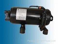 Horizontal Rotary Compressor for Air