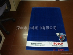 stock compress towel