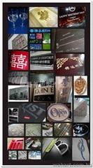 镭射雕刻雕刻,cnc制作.浮雕.立体切割钢、 铁、 铜、 铝