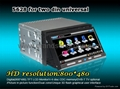 "7"" Two DIN DVD digital Touch screen DVD/GPS Player Bluetooth (Hot Product - 1*)"