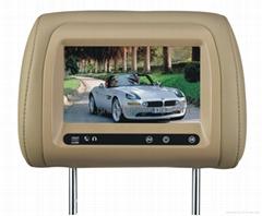 "7""HD Digital TFT Panel Perfect Match Headrests for BMW AV-IN"