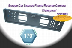 2011 New Design! License plate frame car camera EU Lisence Plate (Hot Product - 1*)