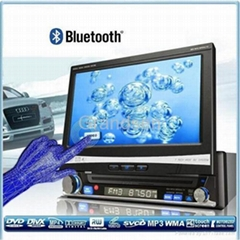 car dvd player in dash touch screen fully motorized