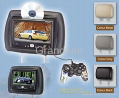 8.5'' Headrest DVD Player with VGA/SD/USB/FM Transmitter