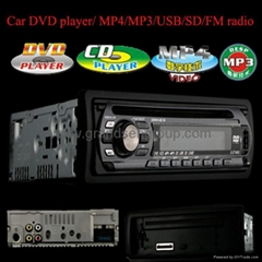 1-Din CAR DVD/MP4/AM/FM/RDS/VCD/MP3 PLAYER