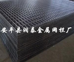 Black Weled Wire Mesh Panel