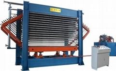 單板乾燥熱壓機