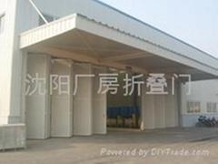 瀋陽工業廠房折疊門
