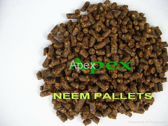 Neem Cake Pellets 1