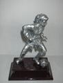 Polyresin Trophy/Award/Promotion/Resinic/Prize/Soccer/Player