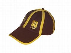 100% cotton jersey sports cap
