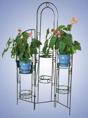 Metal Flower Shelf 1