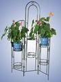 Metal Flower Shelf