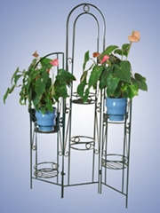 Metal Flower Shelf