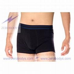 ZEROBODYS Comfortable Mens Body Shaper Trunk (Black 319)