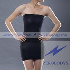 ZEROBODYS Incredible Womens Body Shaper Slimming Tube (Black 105)