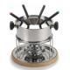 stainless steel fondue set