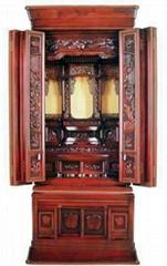 Rosewood, Buddhist altar