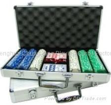 Poker Set 300er Suited 1
