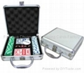 Poker Set 100er Suited