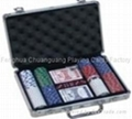 Poker Set 200er Suited 1