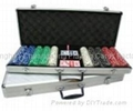 Poker Set 500er Suited