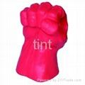 PU glove fist shape
