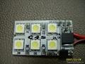 SMD 贴片 5050 白光 LED发光管 3