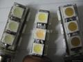 SMD 贴片 5050 白光 LED发光管 4