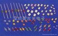 LED1.5mm小蝴蝶 红蓝双色/红绿双色 4