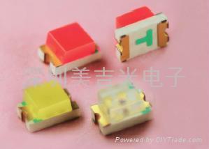 SMD 贴片 LED发光管 0603 3