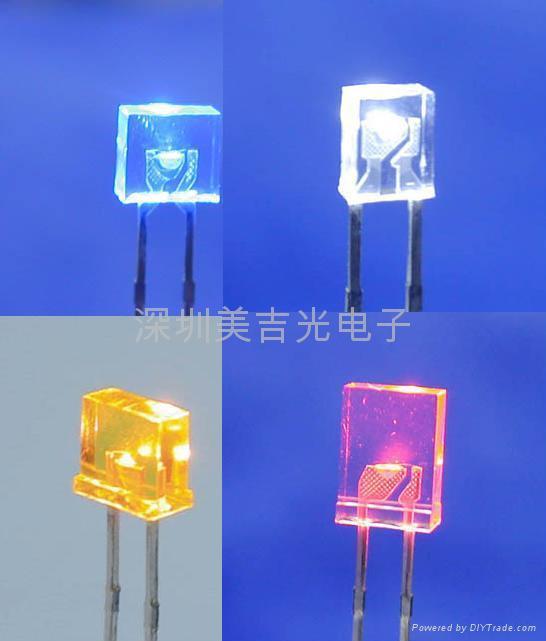 LED 雾状发光 白光 蓝光  4