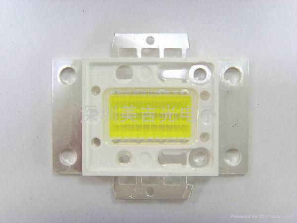 LED 大功率 1W-40W 白光 发光二级管 3