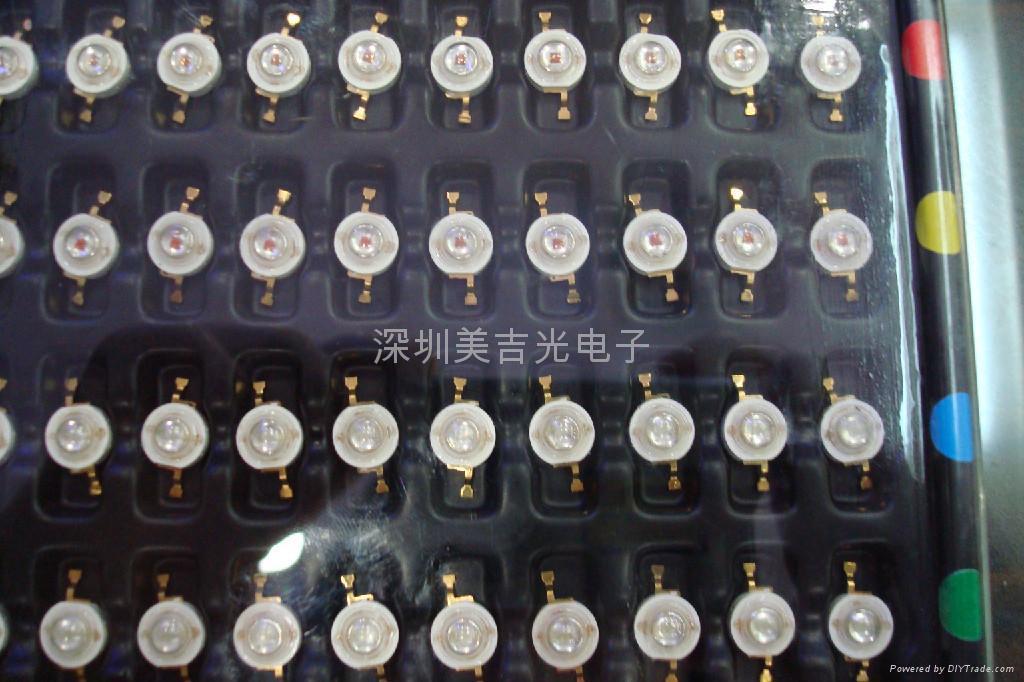 LED 大功率 1W-40W 白光 发光二级管 2