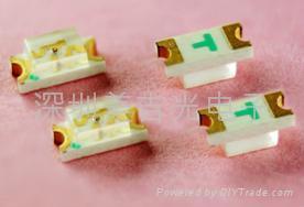 SMD 贴片 LED发光管 0603 2
