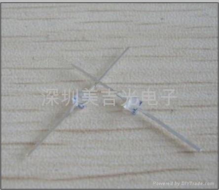 LED1.5mm小蝴蝶 红蓝双色/红绿双色 3