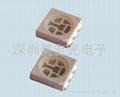 SMD 贴片 5050 白光 LED发光管 2