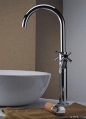 Two handles basin mixer