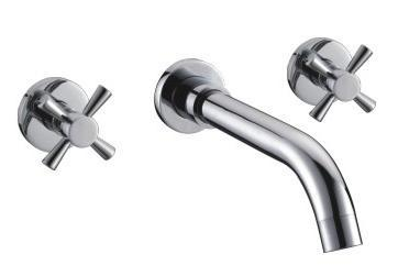 Wall concealed basin mixer 2