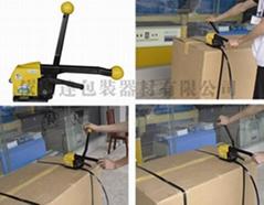 免扣鋼帶打包機/馬口鐵綑紮機/木箱捆包機/托盤打捆機