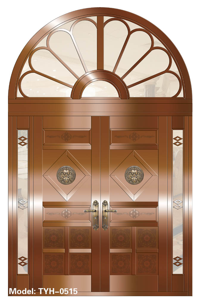 copper interior door