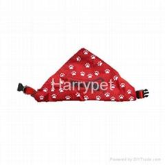 宠物三角围巾