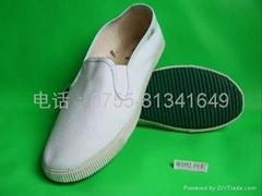白帆/白布鞋 白鞋 白帆布鞋