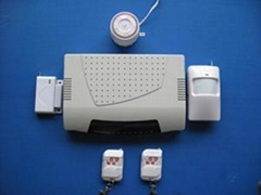 wireless/wired GSM home alarm system